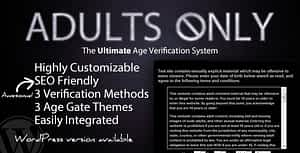Adults Only Age Verification System