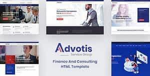 Advotis – Finance And Business Consulting HTML Template