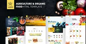 Agro – Agriculture & Organic Food HTML Template Pack