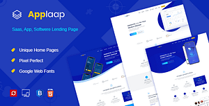 AppLaap | App Landing HTML Template