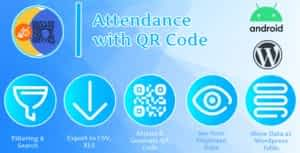 Attendance with QR code – Android + Plugin WordPress