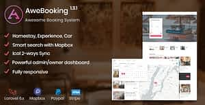 AweBooking – Awesome Booking System PHP Script