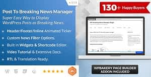 BWL Post To Breaking News Manager