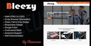 Bleezy – Security Company HTML Template