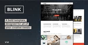 Blink – Parallax One Page HTML Template
