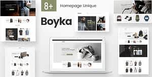 Boyka – Fashion eCommerce HTML Template