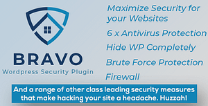 Bravo WordPress Security Plugin – Hide My WP, Stop Hacks!