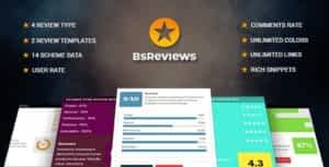 BsReviews – WordPress Posts & Comments Review Plugin