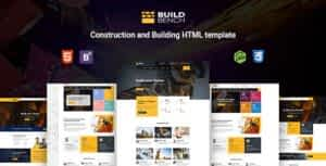 Buildbench – Construction, Building HTML Template
