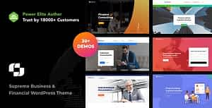 Business and Financial Institution WordPress Theme – Businext