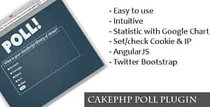 Download Free CakePHP Poll Plugin – PHP Script