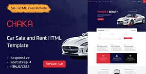Chaka – Car Sale and Rent HTML Template
