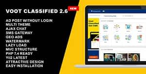 Classified Ads CMS – Voot Classified V2.6