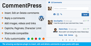 Comment System Plugin for WordPress & Ajax Comments – Comment Press