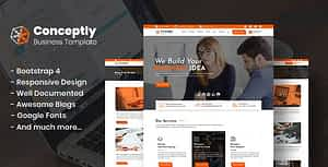 Conceptly – Business Multipurpose HTML template