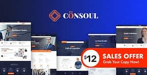 Consoul – Consulting HTML Template