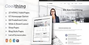 Cool Corporate Business HTML Template