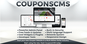 Download Coupons CMS 7 PHP Script
