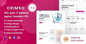 Crimso – SEO & IT Agency HTML Template