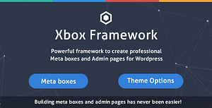 Custom Fields & Options Plugin for WordPress – Xbox Framework