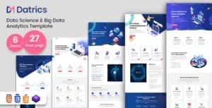 Datrics – Data Science and Big Data Analytics HTML Template