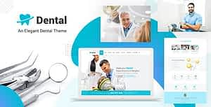 Dental Clinic – Dentist WordPress Theme