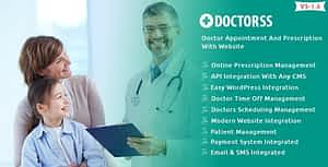 Doctorss – Doctor Appointment and Prescription System with Website