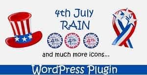 4th July Rain – WordPress Plugin