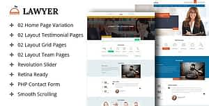 A Lawyer – Lawyers Html Template