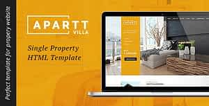 APARTT VILLA- Single Property HTML Template