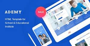 Ademy – Education HTML Template