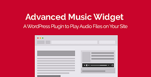Advanced Music Widget WordPress Plugin