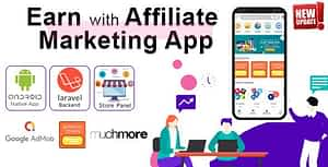 Affiliate Marketing app with PHP Backend | Earn with All in one app