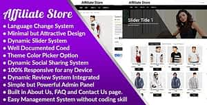 Affiliate Store – Affiliate Store Management System