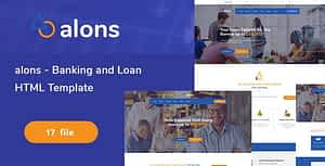 Alons – Banking and Loan HTML Template