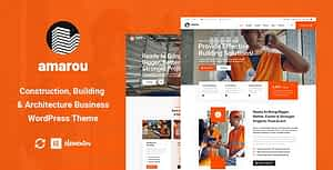Amarou – Construction & Architecture WordPress Theme