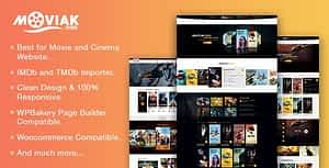 AmyMovie – Movie and Cinema WordPress Theme