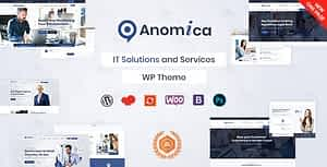 Anomica – IT Solutions and Services WordPress Theme