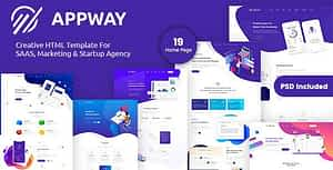 Appway – Saas & Startup HTML Template