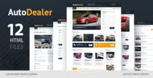 Auto Dealer – Car Dealer HTML Template