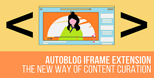 AutoBlog Iframe Extension Plugin for WordPress