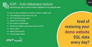 Automatic Database Restore – Restore content for your demo websites