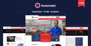 Automobil – Auto Servicing HTML Template