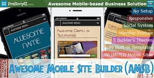 Awesome Mobile Site Builder (AMSB) – Lite