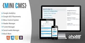 BBOOTS – Mini CMS system for phpBB