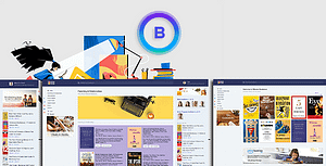 BBook – BookStore Script System with website