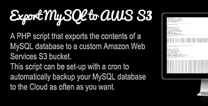 Backup MySQL to Amazon S3