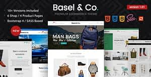Basel – Ecommerce HTML Template