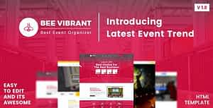 BeeVibrant – Event and Conference HTML Template