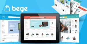 Bege – Electronics Store HTML Template